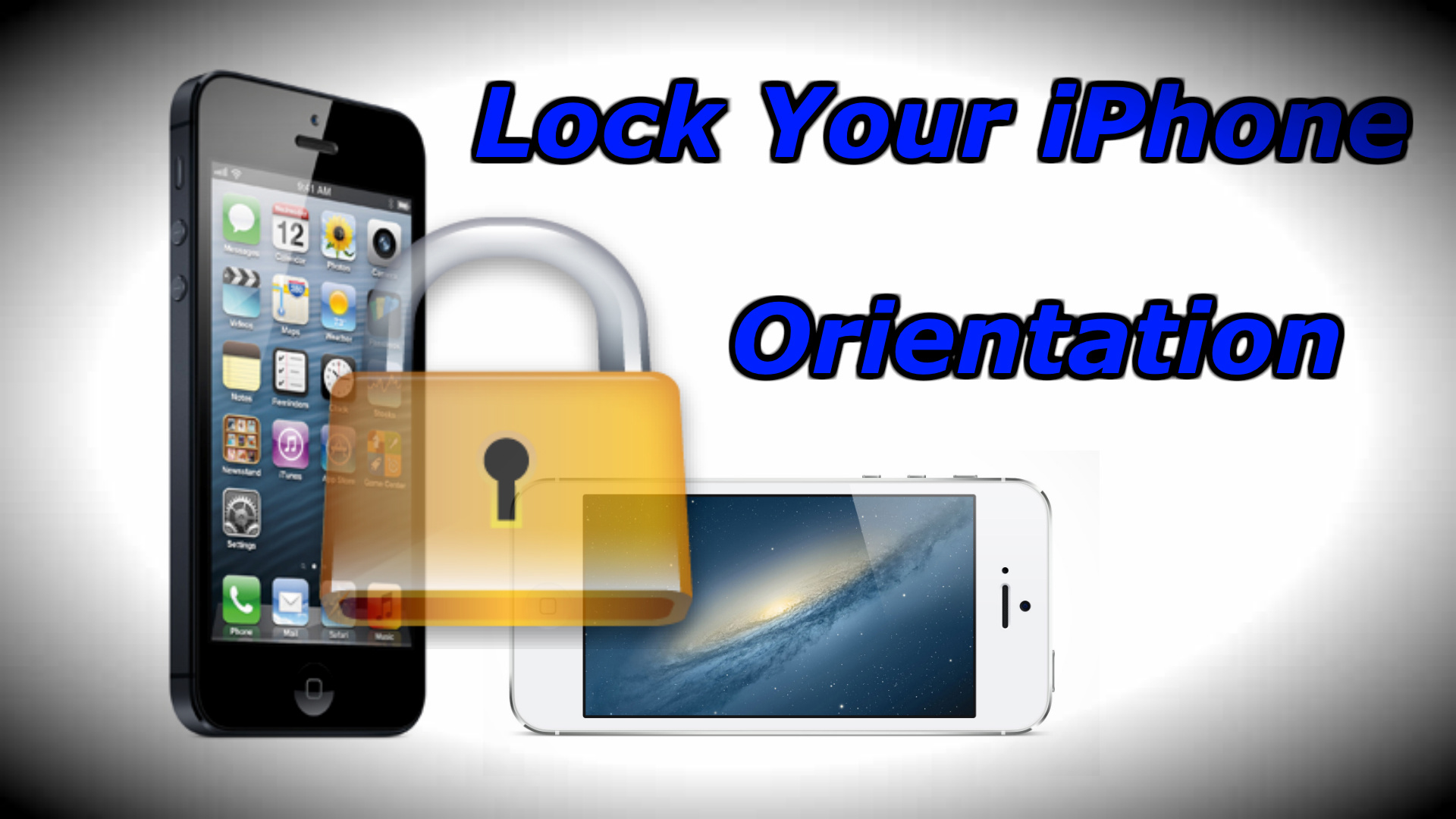 how to lock iphone 5 4s and 4 screen orientation how to use your iphone. Black Bedroom Furniture Sets. Home Design Ideas