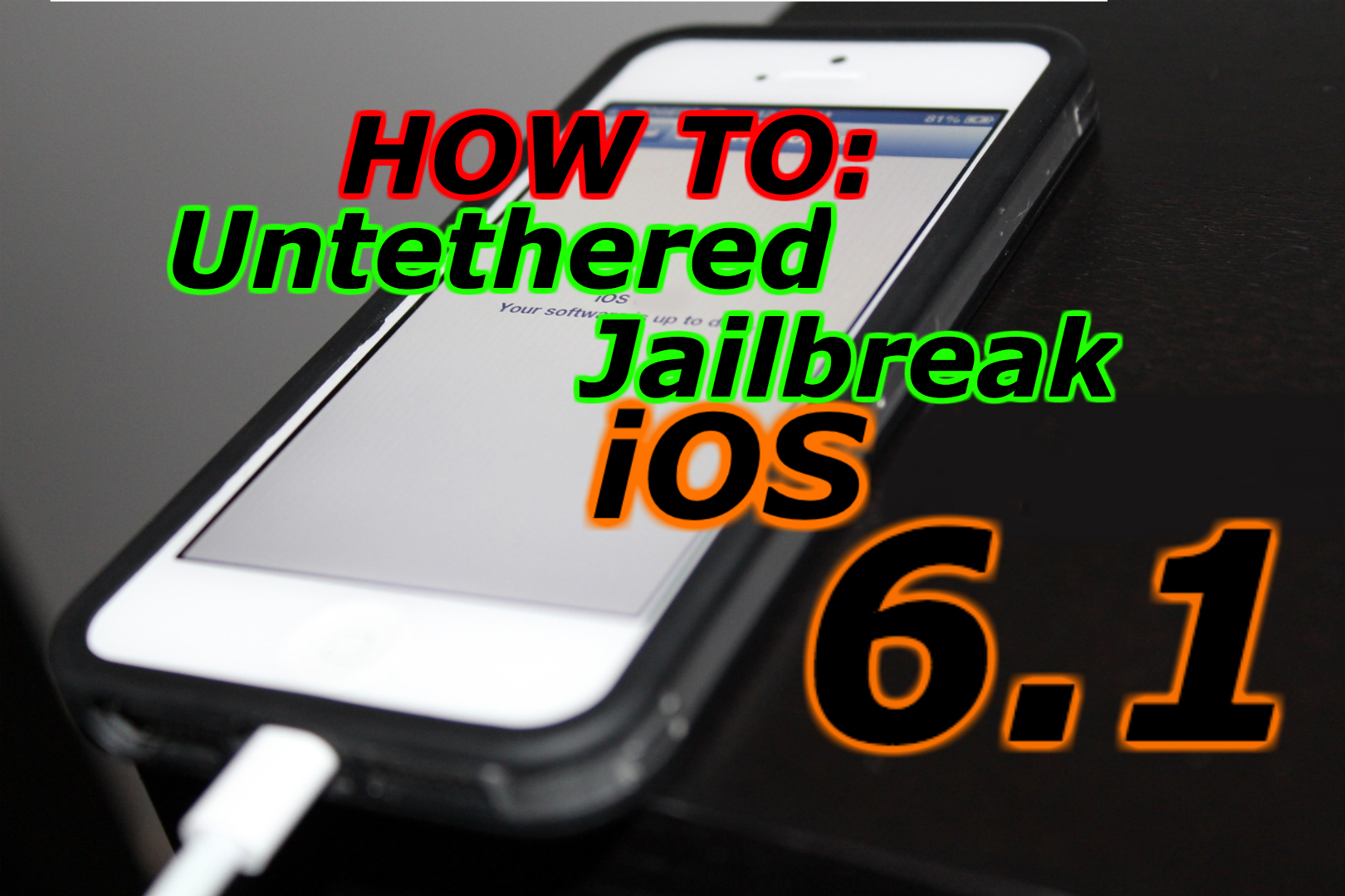 jail break iphone 6 how to untethered jailbreak ios 6 to 6 1 for iphone 2766